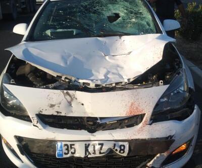 Otomobil ile çarpışan motosikletin sürücüsü öldü