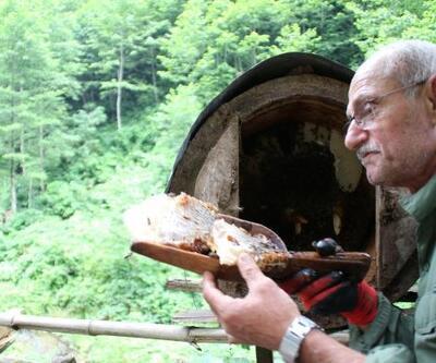 Kilosu 600 lira olan karakovan balı yok satıyor