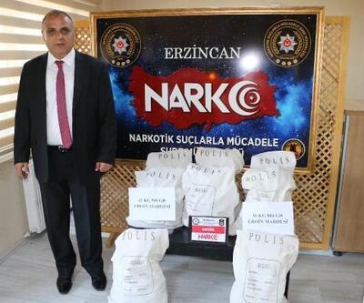 Erzincan'da polis uyuşturucuya geçit vermiyor