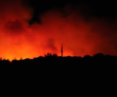 Antalya Manavgat'taki orman yangını kısmen kontrol altına alındı