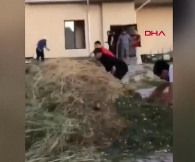 Atambayev'in evine baskın