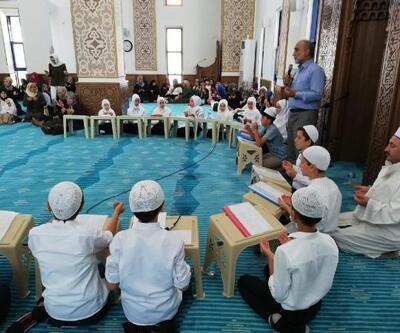 Manyas'ta yaz Kur'an kursları hatim etkinliğiyle sona erdi