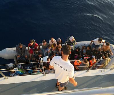 Didim'de 128 düzensiz göçmen yakalandı