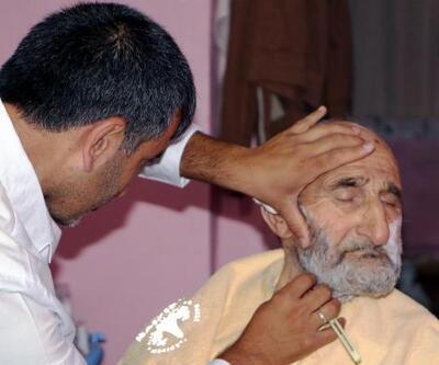 Yaşlı ve hastalara 'evde tıraş'
