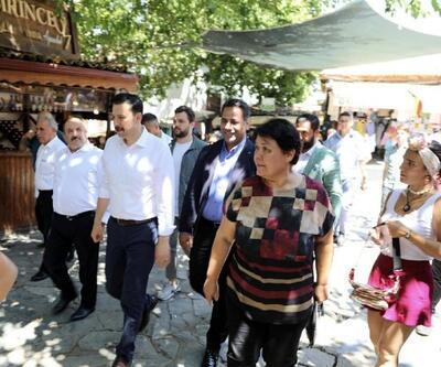 AK Partili Kaya'ya Şirince teşekkürü