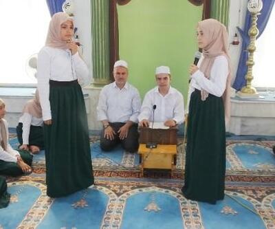Burhaniye'de yaz Kur'an kursu tamamlandı