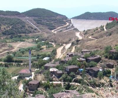 Evleri baraj havzasında kaldı