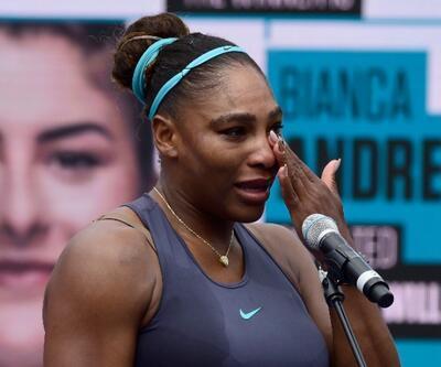 Serena Williams gözyaşlarına boğuldu