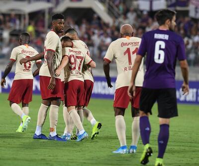 Fiorentina 4-1 Galatasaray Maç Özeti