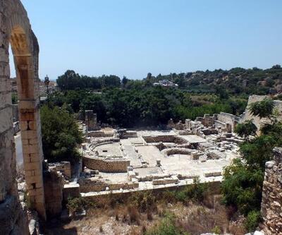 Elaiussa Sebaste Antik Kenti, ilgi bekliyor