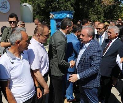 Şentop, Tekirdağ'da bayramlaşma törenine katıldı