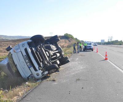 Tekirdağ'da kaza: 4'ü çocuk, 10 yaralı