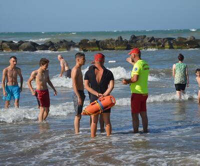 Son dakika... Sakarya'da denize giriş yasaklandı