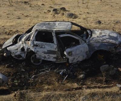 Otomobil şarampole devrildi: 1'i bebek, 4'üçocuk 7 yaralı