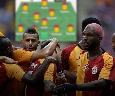 Galatasaray'ın yeni sezon 11'i