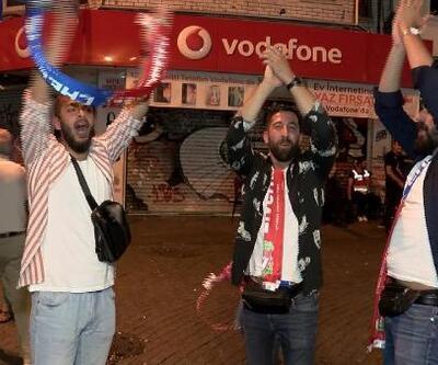 Beşiktaş'ta Süper Kupa kutlamaları
