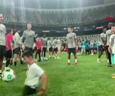 Süper Kupa öncesi antremana konuk oldular