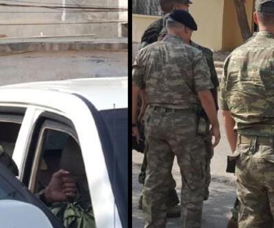 ABD'li Korgeneral Twitty, Suriye sınırında inceleme yaptı