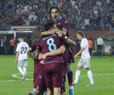 Trabzonspor 2-1 Sparta Prag MAÇ ÖZETİ