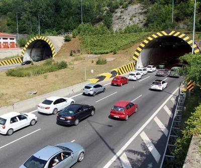 Bolu Dağı Tüneli'nden 12 günde 1 milyon 9 bin araç geçişi