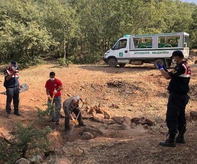 44 gündür kayıp olan adamı oğlu öldürüp, gömmüş