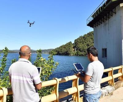 Barajlara drone'lu koruma
