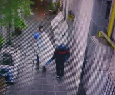 Diyarbakır'da hırsızlık girişimi kamerada