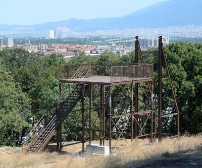 """Bursa'daki """"Macera Parkı"""" inşaatı hızla ilerliyor"""