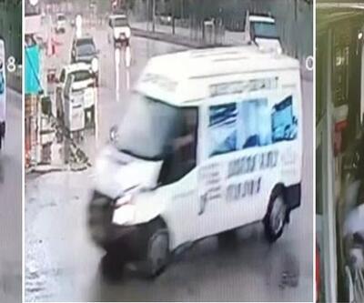Düzce'de minibüs kafeteryaya girdi: 2 yaralı