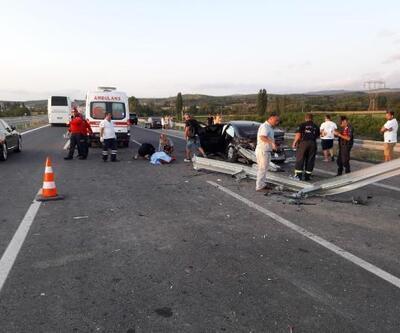 İzmir-İstanbul Otoyolunda kaza: 2 ölü, 2 yaralı