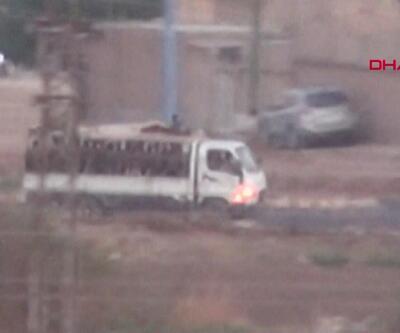 YPG'li teröristlerini hareketliliği