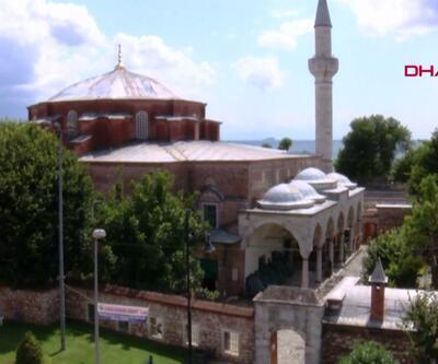 Tarihi küçük Ayasofya Camii'ni de su bastı