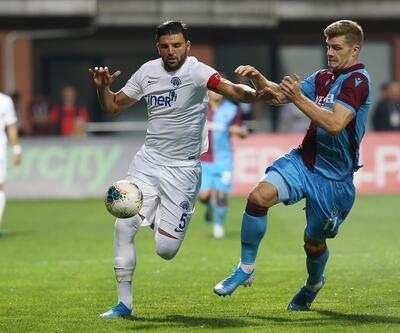 Trabzonspor, Kasımpaşa'yla berabere kaldı