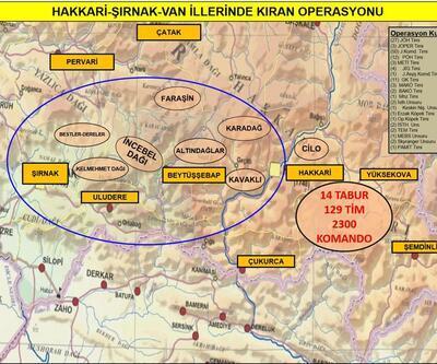 Son dakika... PKK'ya 'Kıran' Operasyonu: 3 ilde 129 tim harekete geçti