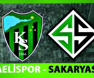 Sakaryaspor Kocaelispor hazırlık maçı ne zaman, saat kaçta, hangi kanalda?