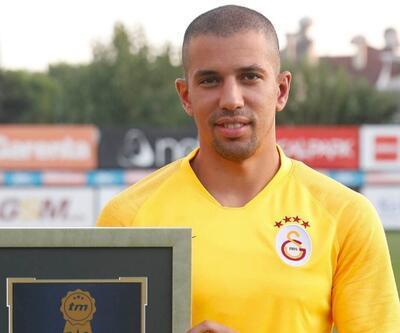 Feghouli ödülünü aldı