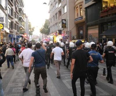 Kadıköy'de eylem gerginliği