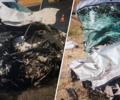 Otomobil ile kamyonet çarpıştı: 2 ölü, 1 yaralı