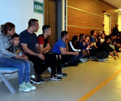 Okul servisinde göçmen kaçaklığı