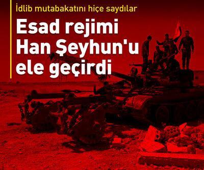 Esad rejimi Han Şeyhun'u ele geçirdi