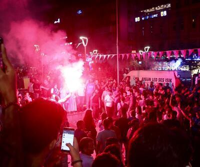 Trabzon'da maçı böyle izlediler