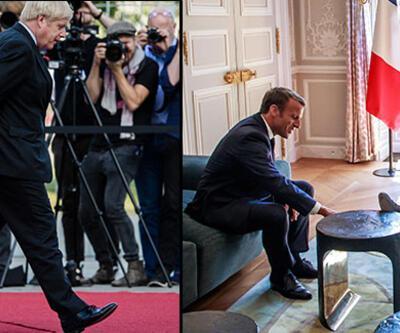 Dikkat çeken rahatlık! Önce Merkel ardından Macron