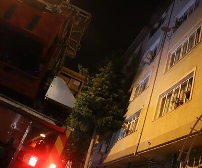 Avcılar'da öğrenci evinde yangın paniği