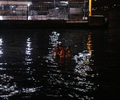 Beşiktaş'ta denize giren bir kişi kayboldu