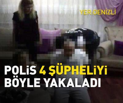 Polis, 104 kişiyi dolandıran şüphelileri Denizli'de yakaladı