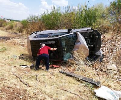 Adıyaman'da trafik kazası: 1 ölü, 1 yaralı
