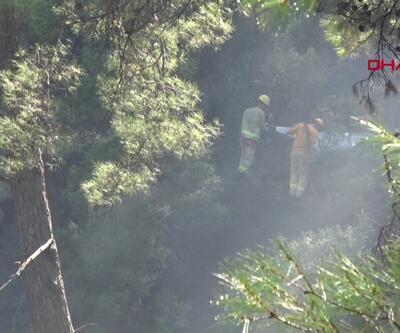 Marmaris'te aynı yerde 4'üncü orman yangını