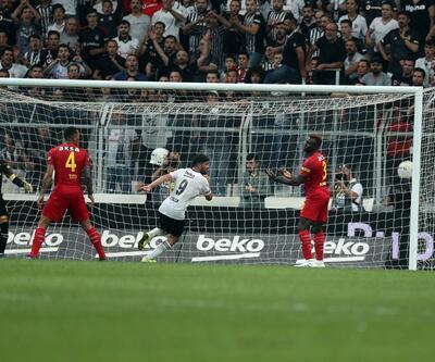 Beşiktaş evinde Göztepe'yi farklı feçti