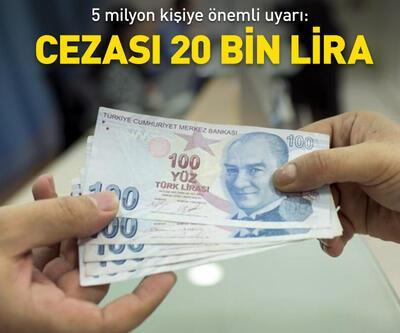 Cezası 20 bin lira
