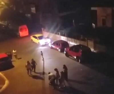 Çocuğu önce dövdü sonra kucaklayarak otomobile bindirdi